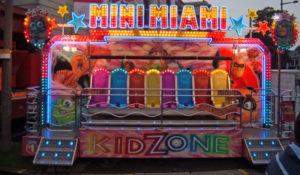 Mini Fairground Miami Ride